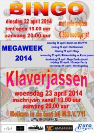 Affiche Bingo Klaverjas 2014 web