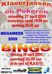 Affiche Bingo Klaverjas