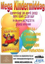 Affiche Kindermiddag 2012 web