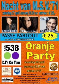 Affiche Nacht Oranje 2013 web