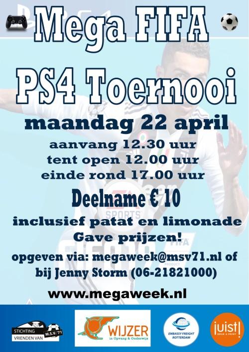 Affiche PS4 FIFA
